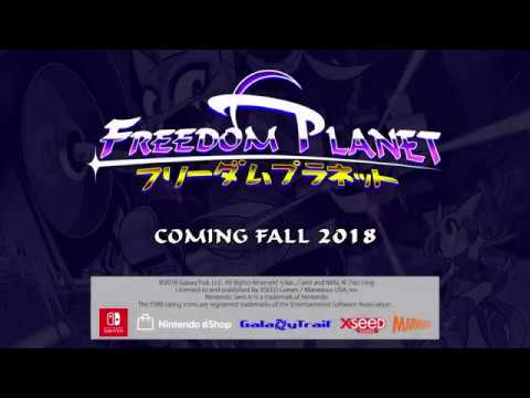 Freedom Planet (Nintendo Switch) - E3 Trailer