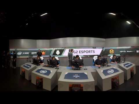 VR Highlights - G2 vs. SK [Overpass] Map 2 - Semifinals - Pro League Finals Dallas