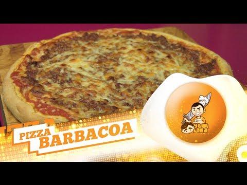 Receta 140# Pizza Barbacoa