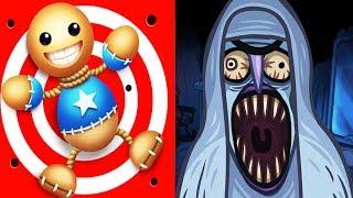 Troll Face Quest Horror Vs Kick the Buddy - Gameplay Walkthrough - Trolling Best Moments