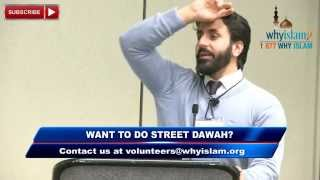 Learning how to do Dawah by Hamza Tzortzis