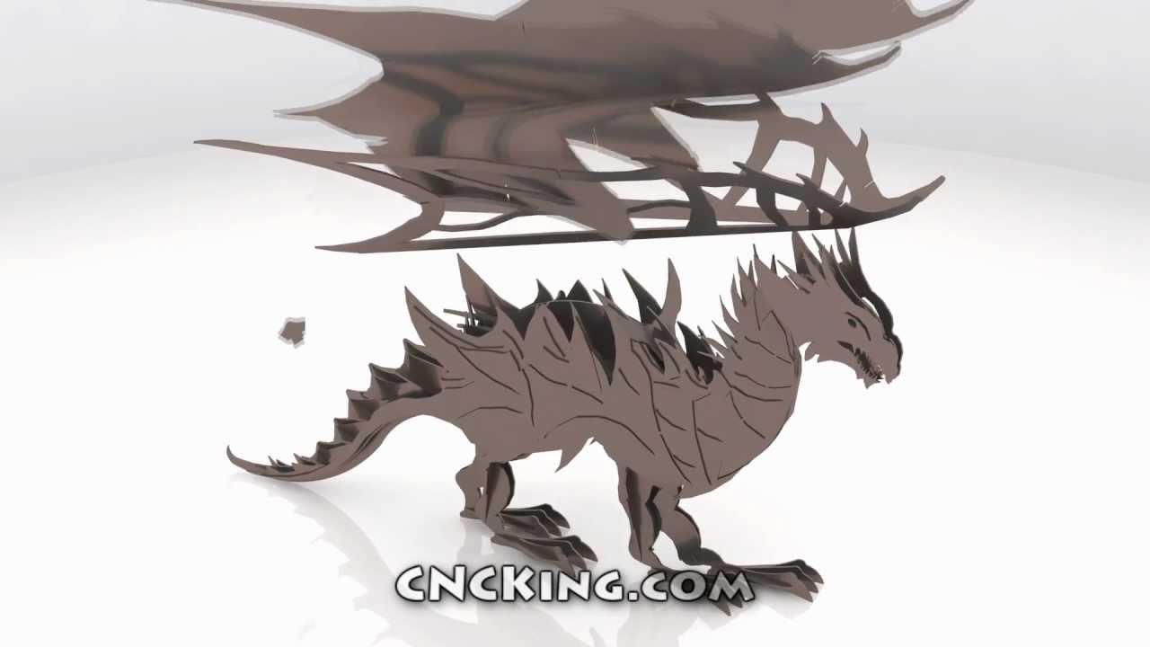 Plasma Dragon: 3D Assembly Animation (1080HD) - YouTube