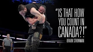 Find out how Kevin Owens responded to Braun Strowman