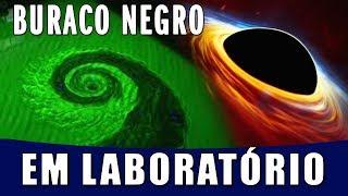 Brasileiros Simulam Buraco Negro em Laboratório - Vamos Voltar para Lua, e desta vez para FICAR!
