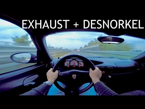 PORSCHE BOXSTER 986    Agency Power Exhaust    POWERFULL SOUND with Zoom H1 & GoPro