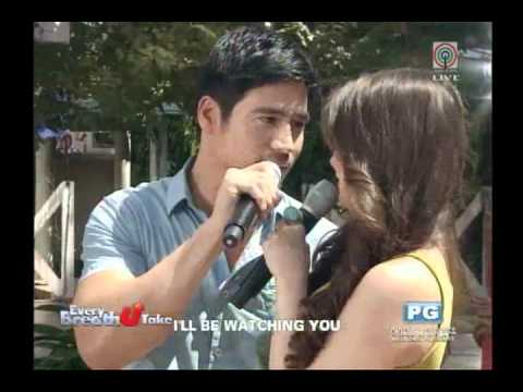 Piolo Pascual & Angelica Panganiban at ASAP 2012 (April 29, 2012)