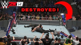 WWE 2K19: 11 Things You Can DESTROY In Incredible Ways!