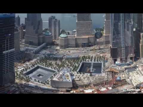9/11 Memorial Museum Tribute In Time-Lapse 2004-2014 Created by EarthCam