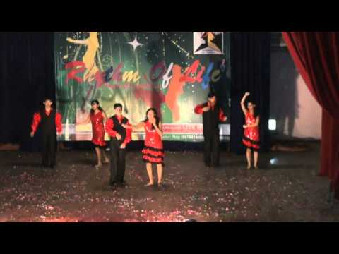 senorita and maria maria salsa dance by lotus dance academy...