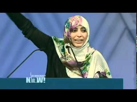"""The Arab People Have Woken Up"": Yemeni Activist Tawakkul Karman Accepts Nobel Peace"