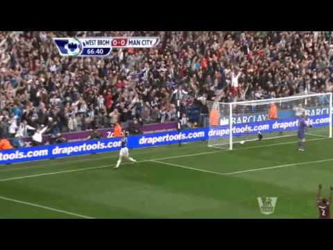 [2012-2013] West Bromwich 1-2 Manchester City