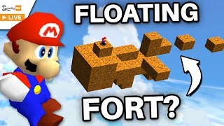 The BLOCK FORT in the Sky! (Super Mario 64)