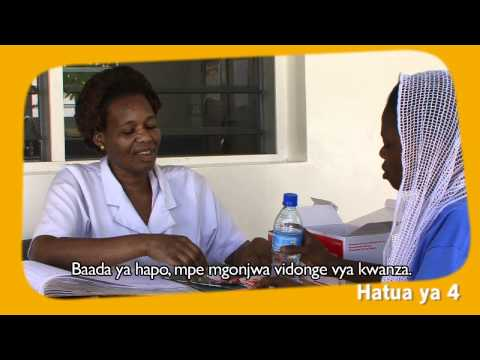 Patient-centered Tuberculosis Treatment - Training Video - Swahili video