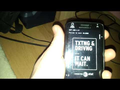 Motorola Atrix 4G Hard Brick