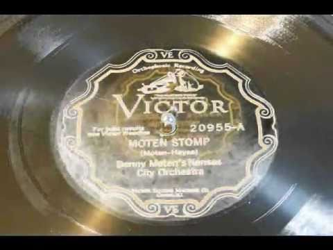 Moten Stomp - Benny Moten's Kansas City Orchestra (Victor Scroll)1927