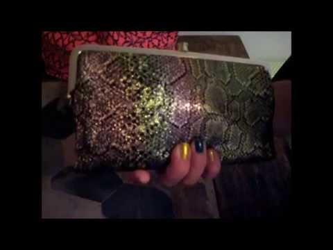 Review: Hobo International Lauren Wallet in Iridescent