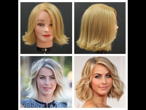 Julianne Hough Haircut Tutorial - TheSalonGuy