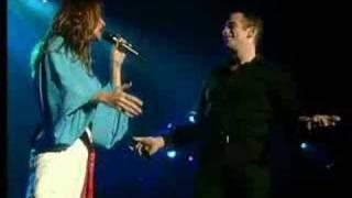 Garou Celine Dion Sous Le Vent Live Bercy