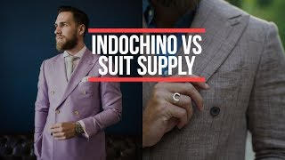 Suit Supply or Indochino Suits? Who Makes the Better Suit? Men's Fashion 2018 || Gent's Lounge