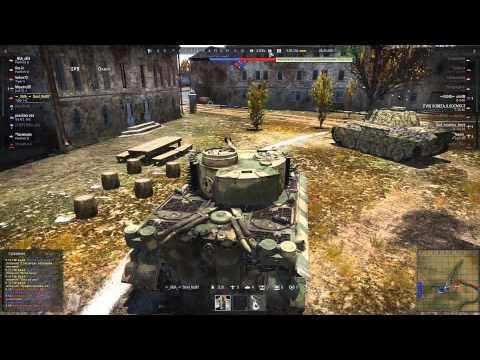 РБ War Thunder танки 6.0 (9 фрагов и 1 самолет)