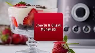 Arda Türkmen'den Oreo'lu & Çilekli Muhallebi Tarifi! #UltraBlendCook