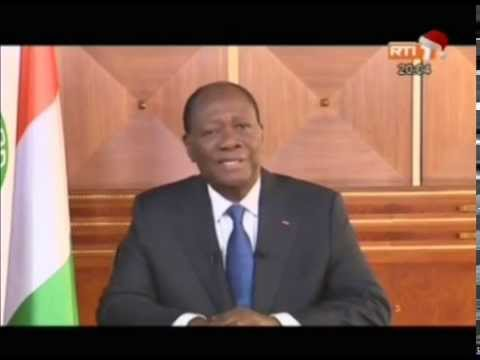 Message à la nation de Sem Alassane Ouattara Président de la république Mercredi 31 décembre 2014