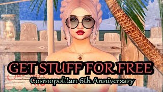 GET STUFF FOR FREE - Cosmopolitan 6th Anniversary