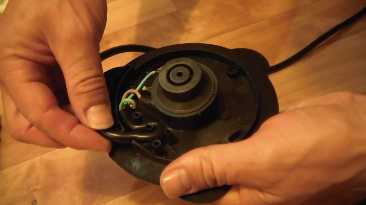 Ремонт электрического чайника витек своими руками