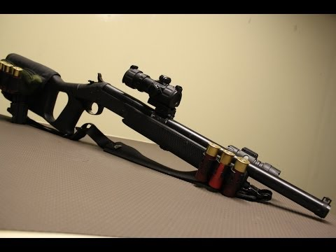 H&R NEF single shot 12 gauge project walk through ZRUS