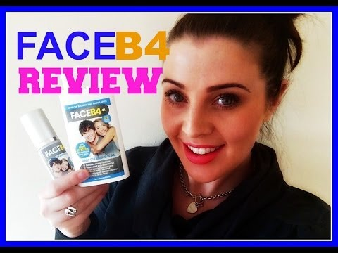 Face B4 Review: Before + After (How I Cured My Acne)