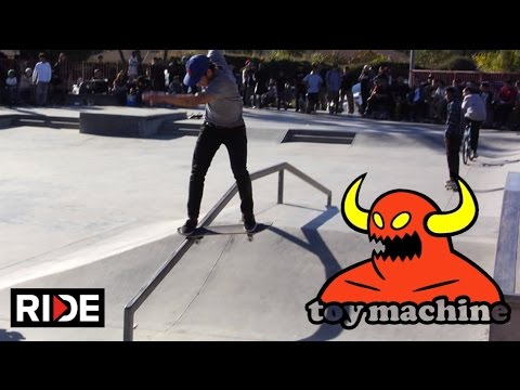 Leo Romero, Daniel Lutheran, Billy Marks & More - Toy Machine Demo in Pamona