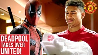 Deadpool Takes Over Manchester United!