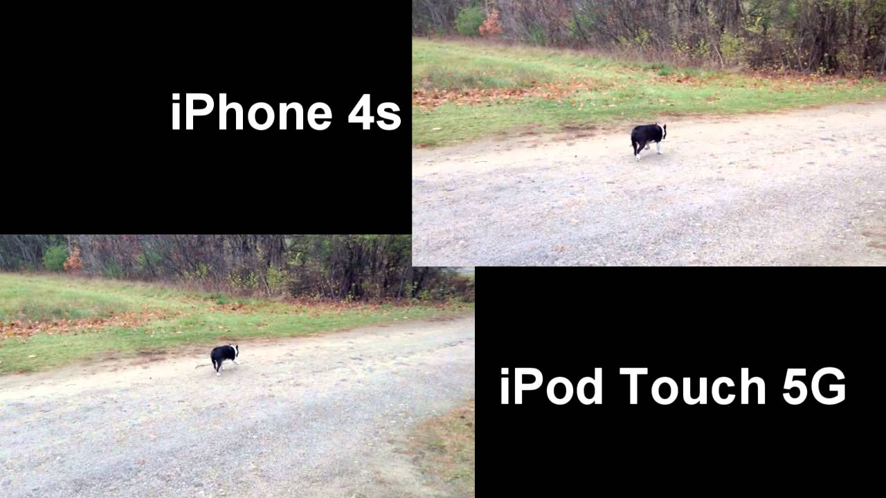 iPhone 4s vs. iPod Touch 5G Camera Comparison Side by Side ...