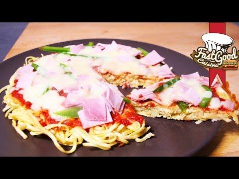 Recette Simple Et Rapide : Ramen Pizza
