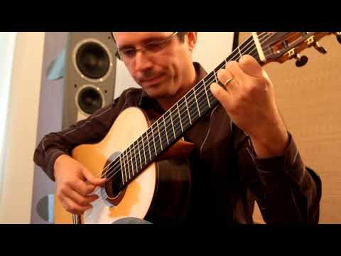 O'Brien Guitars Classical Guitar Played By Euclides Marques
