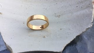 LJR #23 underwater metal detecting, found Gold Ring & awesome Platinum T&Co Ring