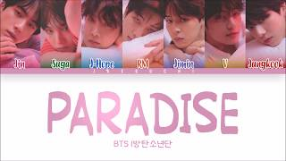 Bts 방탄소년단 Paradise 낙원 Color Coded Eng Rom Han