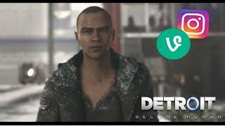 Detroit: Become Human | Vine/Instagram Edits (PT 2)