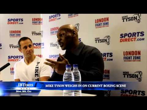 Mike Tyson weighs in on current boxing scene