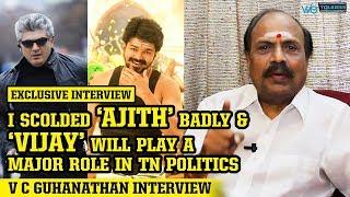 Download Exclusive: I Scolded Ajith Badly says Director V C Guhanathan Interview  | AK58 | VIJAY | MERSAL 3Gp Mp4
