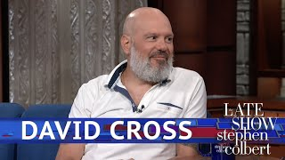 David Cross And Stephen Colbert Remember Their Dinner Date Differently