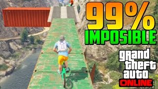 99% IMPOSIBLE!! + FINAL INCREÍBLE! PIM PAM!! - Gameplay GTA 5 Online Funny Moments