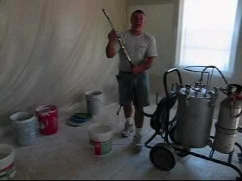 drywall texture sprayer