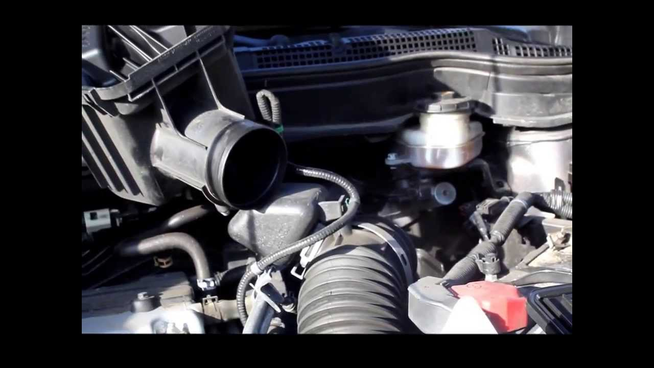 easy 2010 honda cr-v engine filter replacement