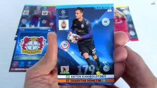 UNBOXING: 5 Sobres Panini Adrenalyn XL Uefa Champions League 2014-2015 NORDIC EDITION [3]