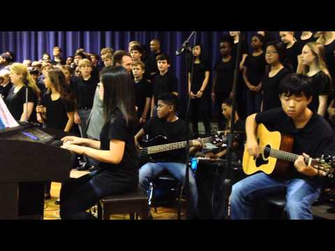 Winter concert. Drake Middle School Choir 2014-2015