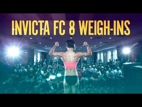 INVICTA FC 8 Weigh-Ins