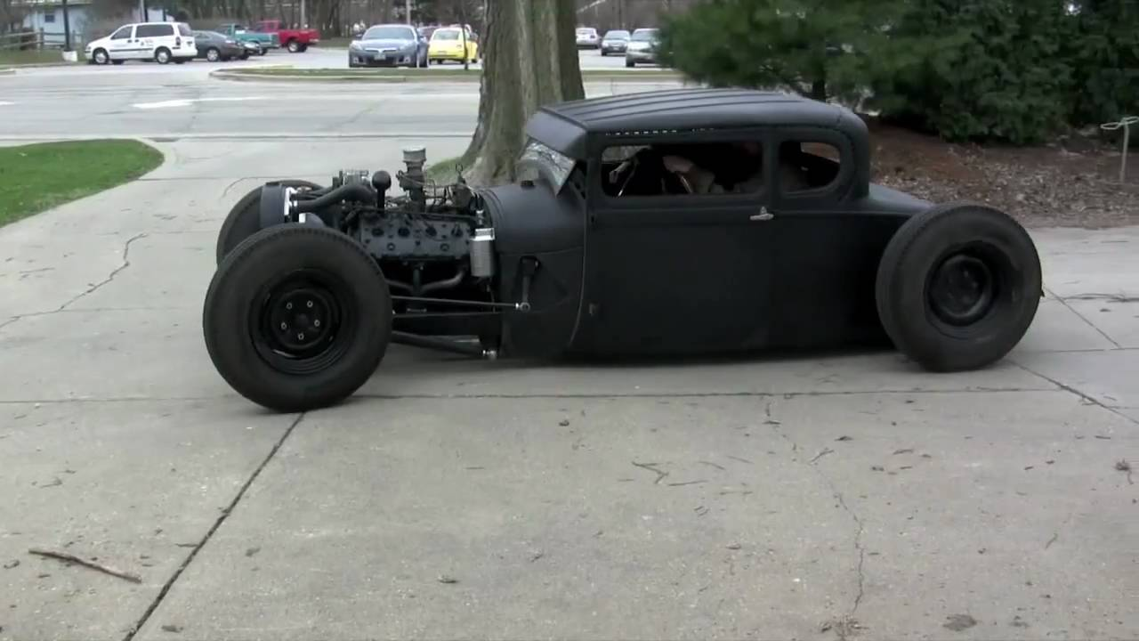 1929 ford coupe hot rod running day 1 youtube. Black Bedroom Furniture Sets. Home Design Ideas