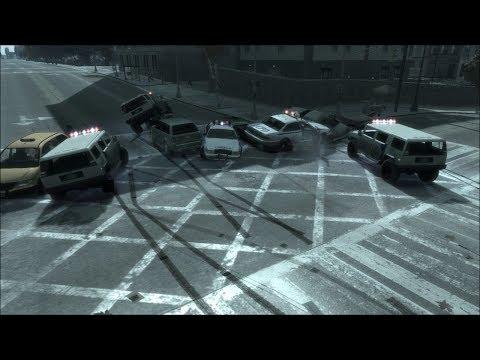GTA IV Movies - Police Chase 2 (Полицейские погони 2)