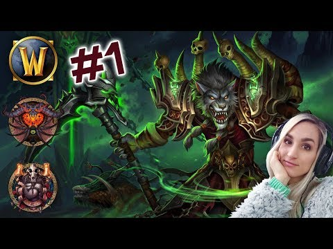 Warlock Worgen testen im Dauerregen [Level 1-20 - World of Warcraft]